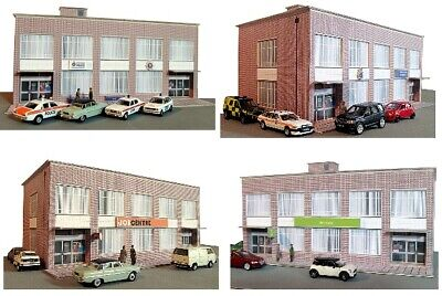Kingsway, 00 Scale, Modern Office Building, Job Centre,  ** Ready Made ** • 49.20€