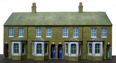 Kingsway, 00 Scale,Four Edwardian Terraced Houses,full, Ready Made • 43.69€