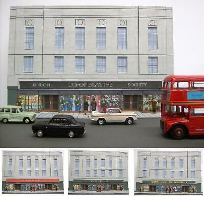 Kingsway, 00 Scale,Large Department Store, ** Ready Made ** • 49.15€