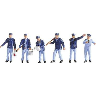 Figurines Conducteur De Locomotive Et Agents De Manœuvre, Voie N • 16.98€