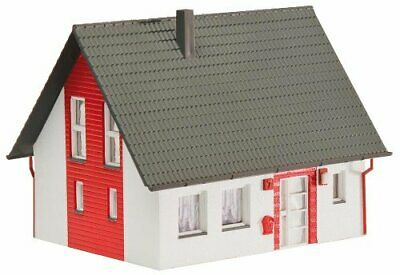 Faller 130315 Single-Family HouseHO Scale Building Kit Red • 51.91€