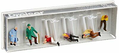 Preiser 10027 Passengers Seated On Benches HO Model Figure • 25.87€