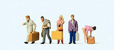 Passengers At Train Station With Luggage (5) HO Preiser Models • 29.33€