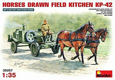 Miniart 135  Soviet Fieldkitchen With Horses • 55.54€