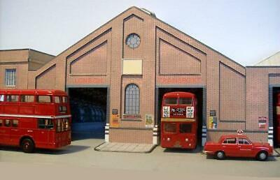 Kingsway, 00 Scale, Tottenham LT Central Bus Garage.  ** Ready Made ** • 60.14€
