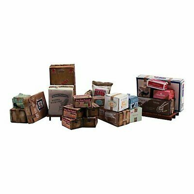 Woodland Scenics Scenic Accents Miscellaneous Packaged Freight Boxes Crates S... • 31.21€