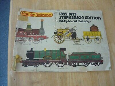 Hornby Catalogue Stephenson Edition 1825 1975 150 Years All Complete Oo Gauge • 2.17€