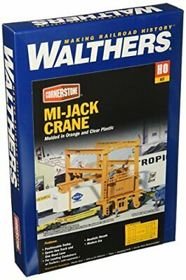 Walthers Cornerstone HO Scale Model  MiJack Translift Intermodal Crane • 48.12€