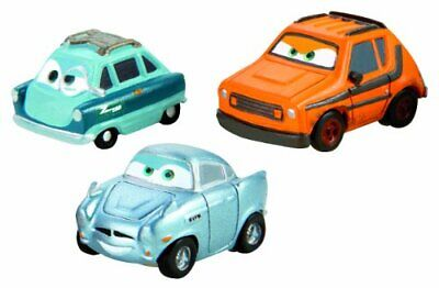 Cars Micro Drifters Grem Professor Z And Finn McMissile Vehicle 3Pack • 76.50€