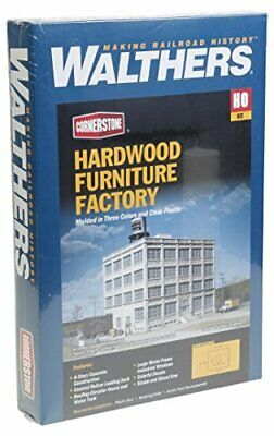 Walthers Cornerstone HO Scale Hardwood Furniture Factory Structure Kit • 91.54€