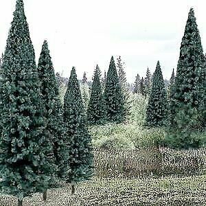 Woodland Scenics Ready Made Trees Value Pack 4  6 Blue Spruce 13 • 65.29€