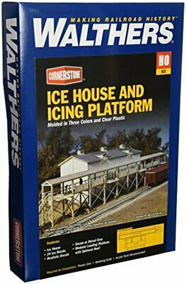 Walthers Cornerstone Series Kit HO Scale Ice House And Icing Platform • 73.76€
