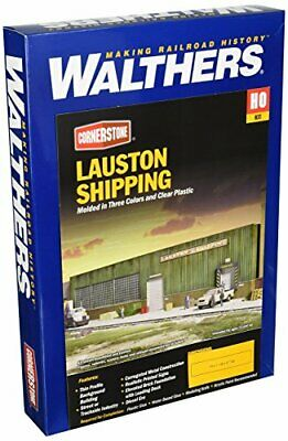 Walthers Cornerstone HO Scale Lauston Shipping Background Building • 60.67€