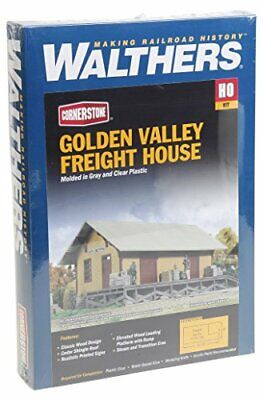 Walthers Cornerstone Series174 HO Scale Golden Valley Freight House Kit 838 X... • 52.36€