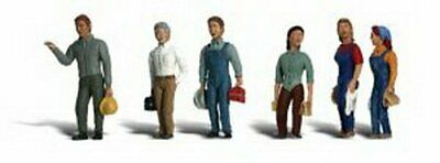 2nd Shift Workers N Scale Woodland • 26.53€