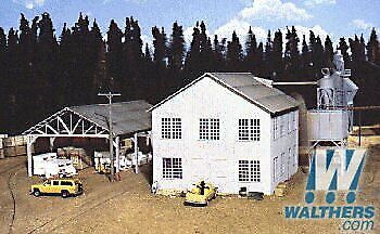 Walthers Inc. Planning Mill And Shed Kit 6 X 8 X 534 15 X 20 X 14.3cm • 78.06€