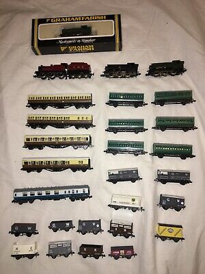 Assorted N Guage Rolling Stock • 90.89€