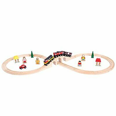 Bigjigs Rail Heritage Collection Canadian National Train Set • 72.50€
