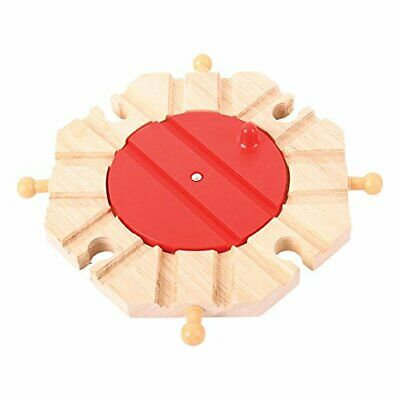 Bigjigs Rail 8 Way Turntable - Other Major Wooden Rail Brands Are Compatible • 22.14€