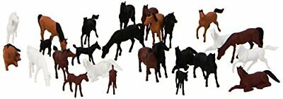Preiser 14407 Animals Horses Package(26) HO Model Figure • 51.50€