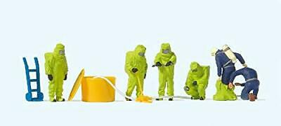 Preiser 10731 Firemen With Green Chemical Resistant Suits Firefighters • 37.73€