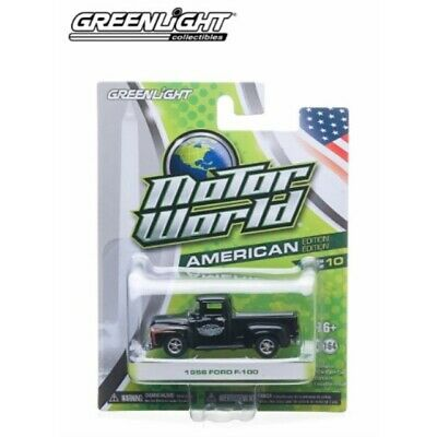 1956 Ford F-100 (Black) 2014 Motor World Series 10 American Edition 1:64 Scal... • 24.22€