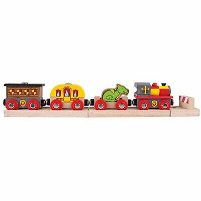 Bigjigs Rail Medieval Train - Wooden Train Sets And Accessories • 35.93€