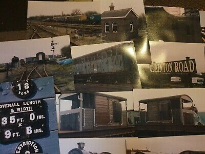 25+ Steam Train Railway Photos Reference Quainton From 1990 • 1.11€