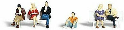 Woodland Scenics HO Scale Scenic Accents Figures/People Set People Sitting (6) • 25.53€