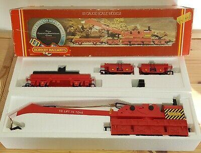 Hornby Railways 75 Ton Operating Breakdown Crane 00 Gauge With Side Support Arms • 16.86€