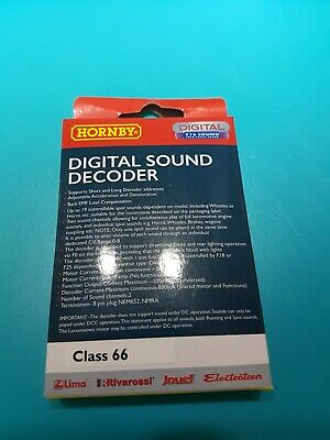Hornby R8121 TTS Sound Decoder - Class 66 8 Pin With Speaker Brand New Boxed • 23.45€