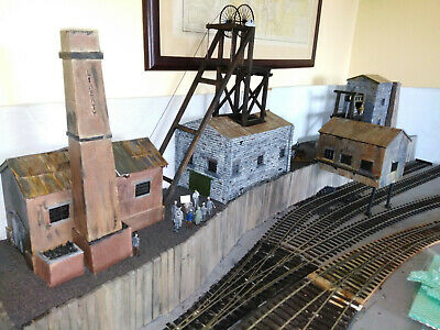 A Complete Coal Mine In O Gauge. Typical Early Mine • 117.92€