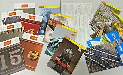 Hornby Catalogues, Magazine And Track Plans - Job Lot • 11.32€