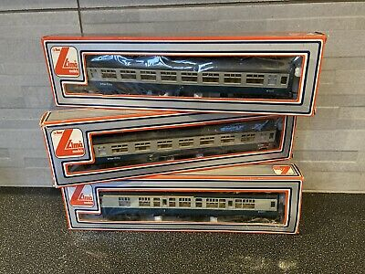 Lima Intercity Rake Carriages In Boxes X 3 • 11.56€
