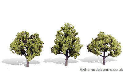 TR3509 Woodland Scenics Early Light 3 Pack 4  - 5  Ready Made Trees TMC • 19.44€