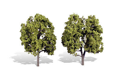 TR3512 Woodland Scenics Early Light 2 Pack 5 -6  Ready Made Trees TMC • 19.27€