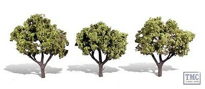 TR3506 Woodland Scenics 3-4  Early Light 3 Pack Ready Made Trees TMC • 18.31€