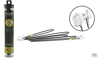 JP5761 Woodland Scenics Just Plug Lighting System Extension Cables • 6.48€