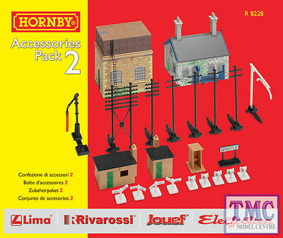 R8228 HORNBY OO GAUGE Building Extension Pack 2 • 48.40€
