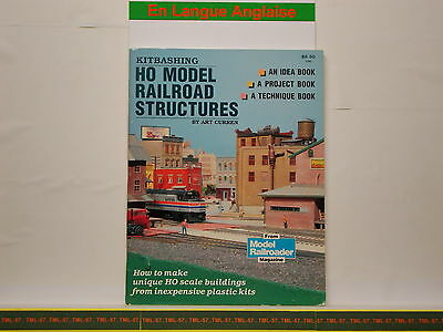 Livre MODEL RAILROADER - HO Model Railroad Structures - 78 P • 28€