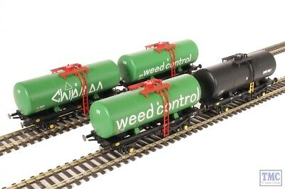 1170 Heljan OO/HO Gauge 4 Wheel A Tank Wagon Chipman Weedkiller Pack • 121.10€