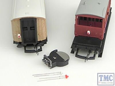 TTAL1 Train Tech HO/OO Scale Modern Image Tail Lamp (Flashing) • 15.92€
