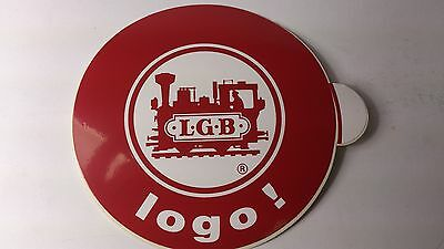 * Original LGB 8.5 Cm Diameter Window Sticker 08 - Logo ! • 2.18€