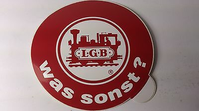* Original LGB 8.5 Cm Diameter Window Sticker 03 - Was Sonst (PL) • 2.21€