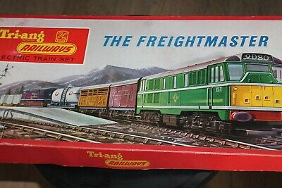 Tri-ang Hornby*  Electric Train Set * The Freightmaster * Ovp * 1965 • 149€