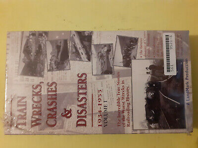 Cassette Vhs Trains Disasters 1934 - 1955 • 9€