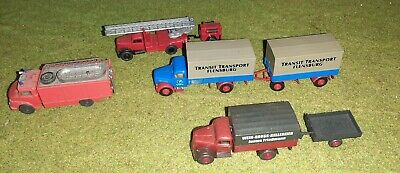 Lot Vehicules, Camions, Ho. Wiking. • 20€