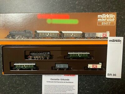 Marklin Spur Z Scale/gauge OBB Passenger Train With Freight. • 290.85€