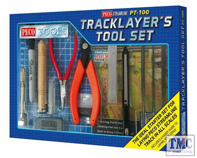 PT-100 Peco Tools Tracklayer's Tool Set • 81.92€