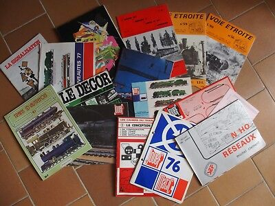 Lot De Catalogues Jouef Chemin De Fer Train   • 99.99€